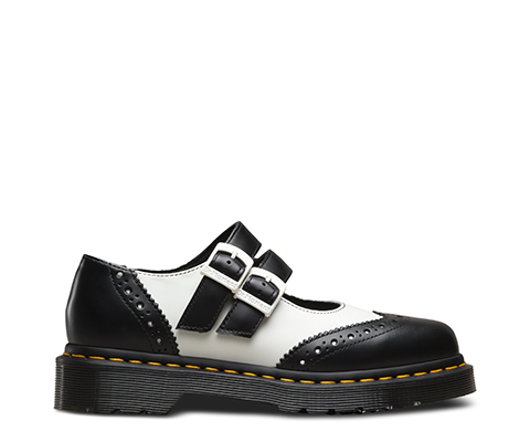ADENA II MARY JANE. €140.00 €95.00. BLACK + WHITE SMOOTH