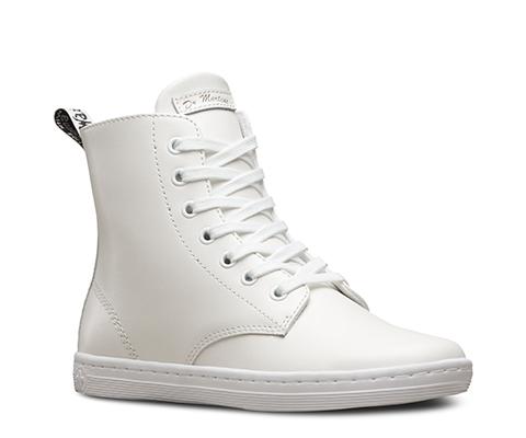 Discount Dr Martens Womens Boots T Lamper Leyton Whitet Lamper