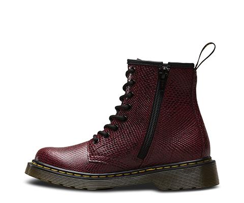 Boots Delaney Wine Viper Jr - Dr Martens q8K0h7uZw4
