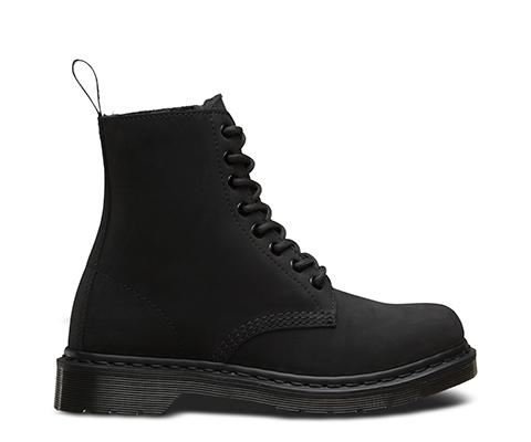 Split Front Fur Shoe Boots