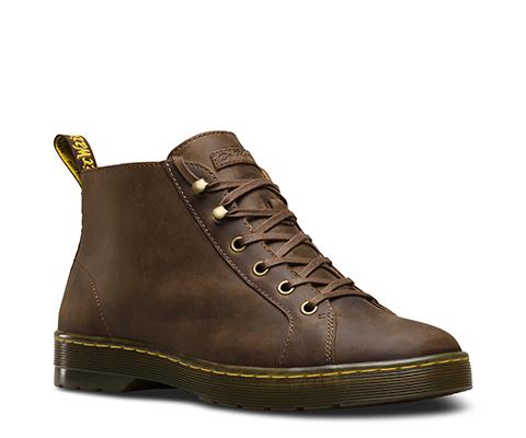 Dr Martens Coburg Marron - Chaussures Boot Homme