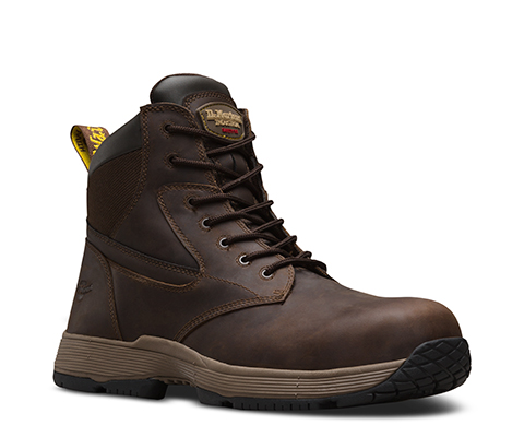 Best Selling Dr Martens Corvid Non Metallic SD Safety Toe 7 Eye Boot Gaucho Connection Mens Gaucho Connection Dr Martens Mens Dr Martens