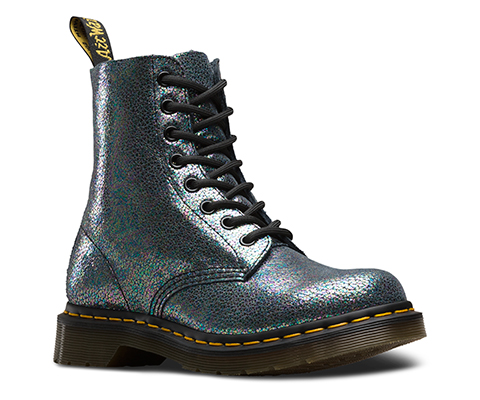 Dr. Martens 1460 PASCAL GLITTER - Lace-up boots - purple/multicolor glitter