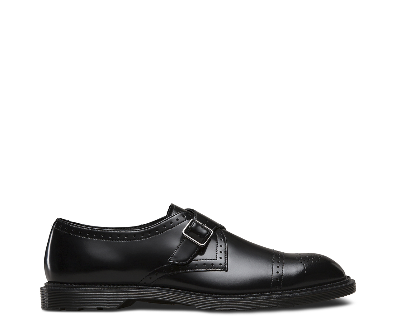 Womens Cobden Black Polished Smooth Boots, Black (Black), 6 UK (39 EU) Dr. Martens