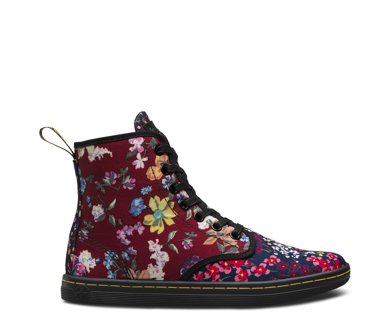 Floral shoreditch sale boots official dr martens store mightylinksfo Image collections
