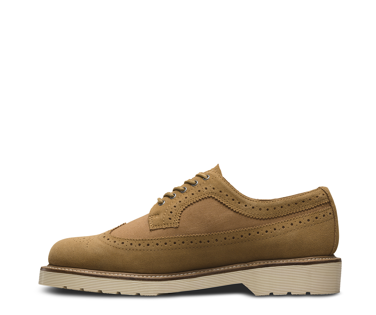 Dr. Martens 3989 Chestnut Suede Wp & Chestnut Canvas 22193231, Zapatos - 42 EU