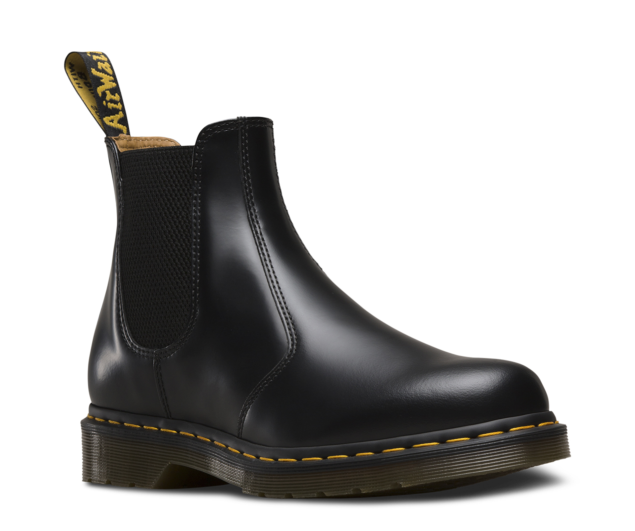 Footlocker Fotos Dr Martens Chelsea Boot Black Smooth Wiki Barato 0uNvV3Wa