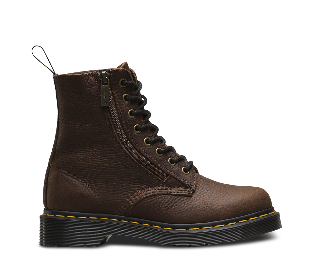 1460 PASCAL W/ZIP GRIZZLY | Women's Boots | The Official ...