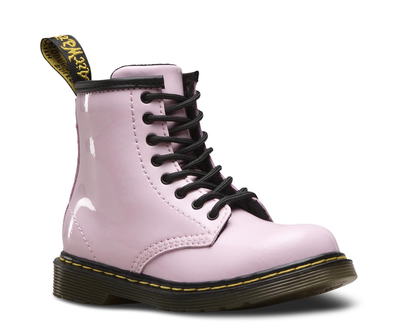 dr martens patent chelsea boots