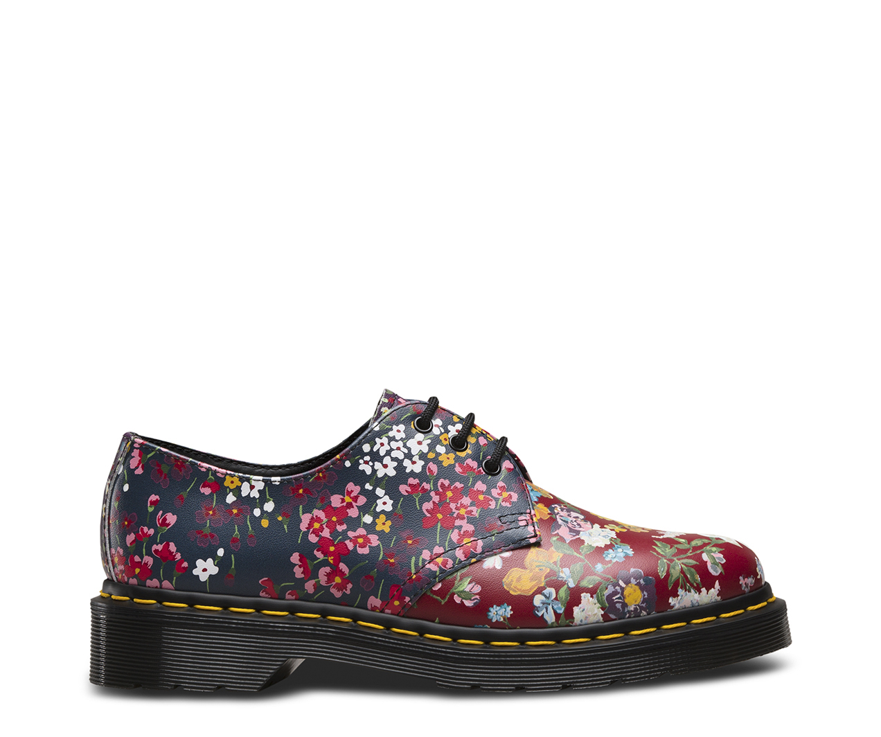 1461 floral clash women 39 s shoes official dr martens store uk. Black Bedroom Furniture Sets. Home Design Ideas