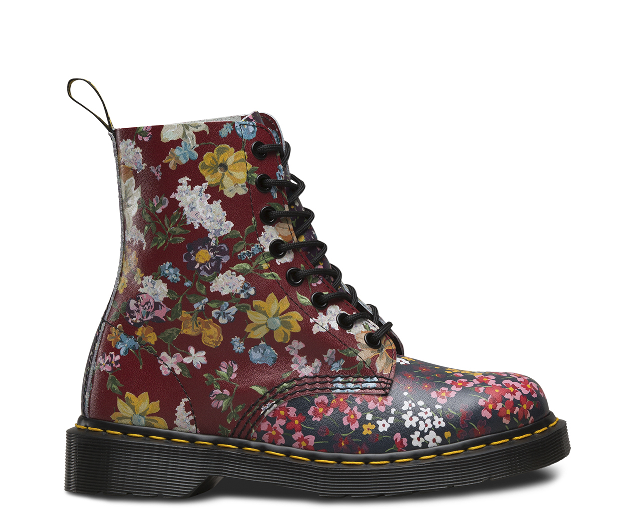pascal floral clash women 39 s boots shoes official dr martens store uk. Black Bedroom Furniture Sets. Home Design Ideas