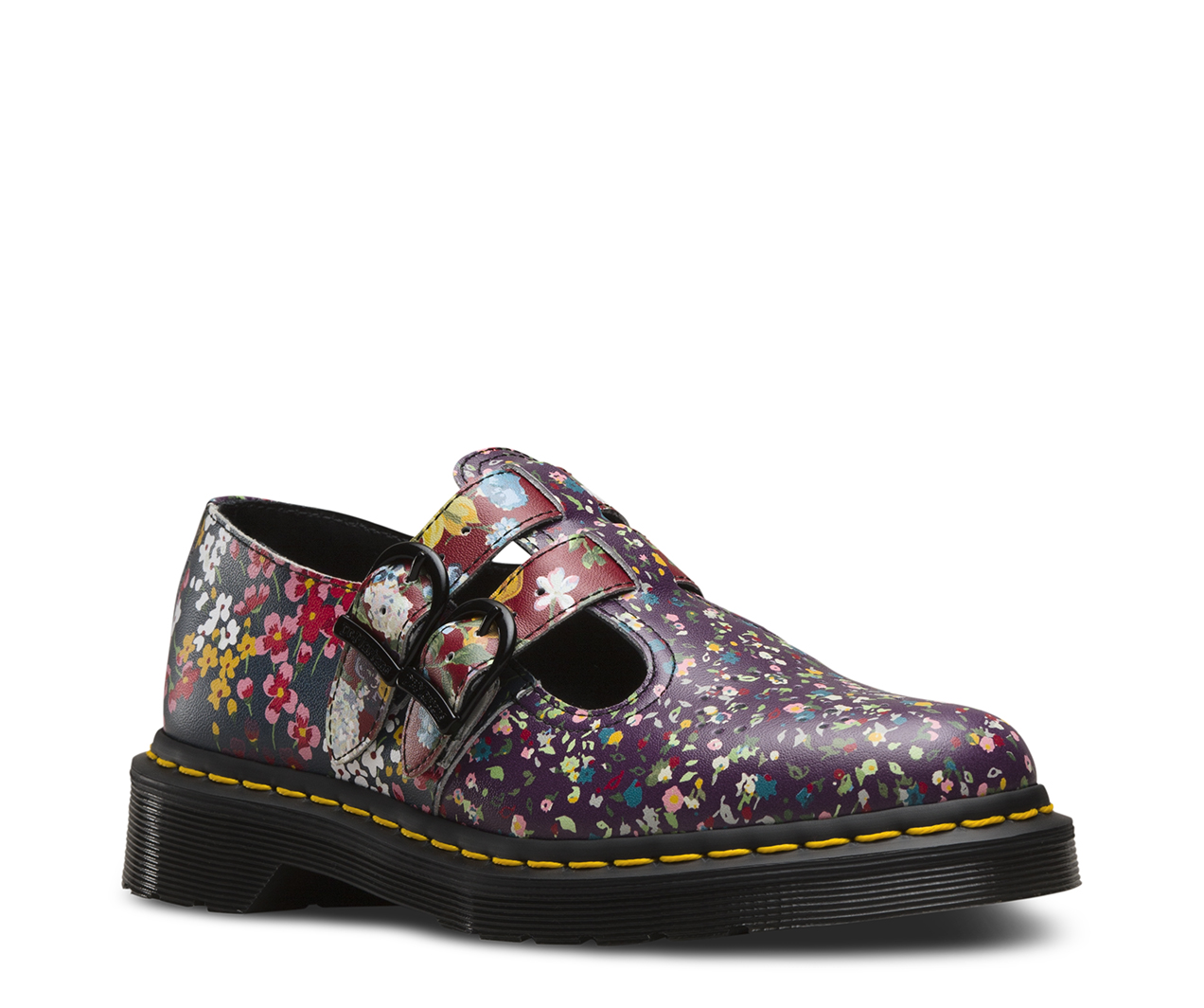 8065 floral clash women 39 s shoes official dr martens store uk. Black Bedroom Furniture Sets. Home Design Ideas