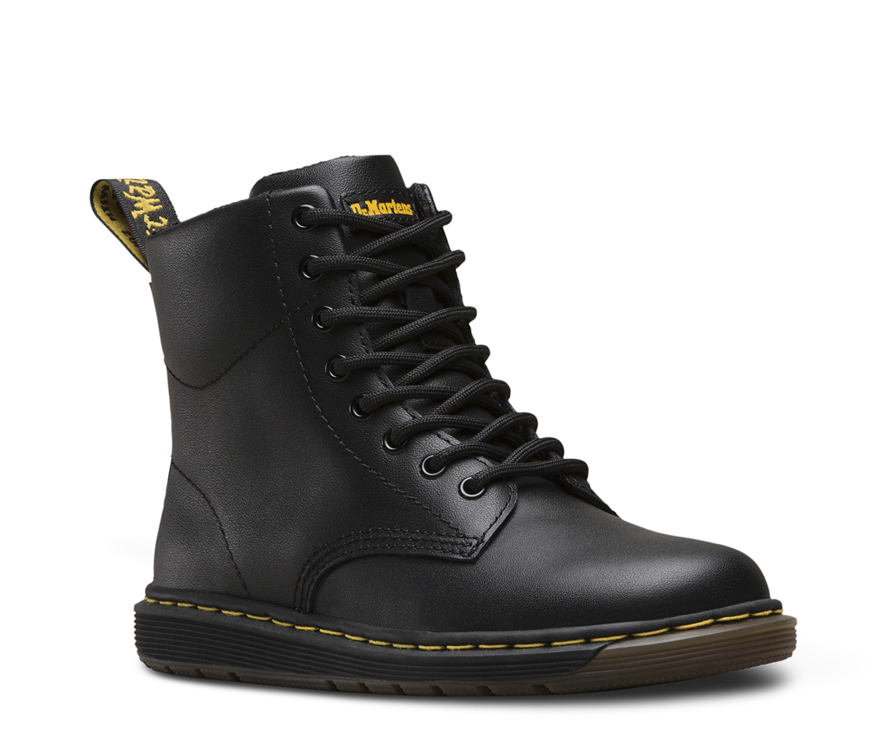 Junior Malky Leather Dm S Lite Boots Dr Martens