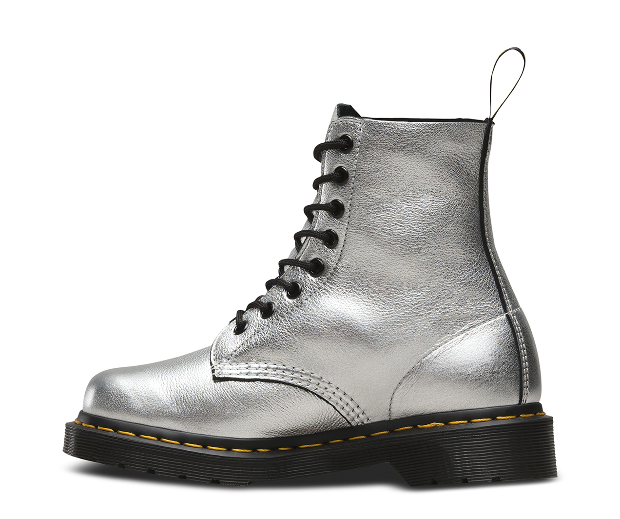 Dr. Martens Pascal Met Silver Santos 22502040, Boots - 37 EU