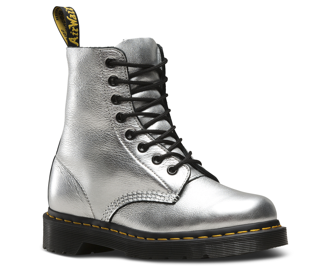 Dr. Martens Pascal Metallic 8-Eye Boot
