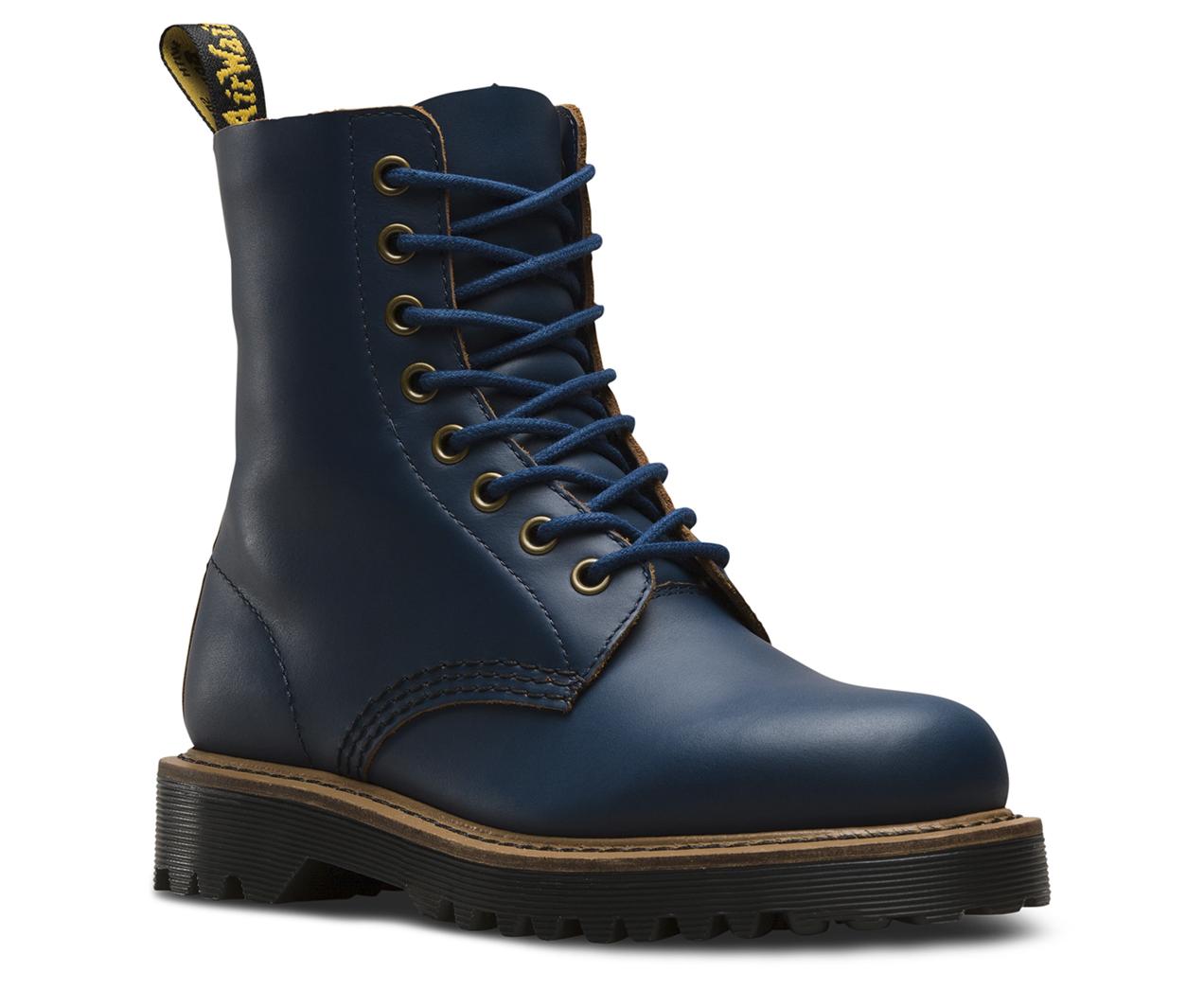 Bureau Bleu Dr. Martens Chaussures Lisses Bureau Hommes SXey6rgY