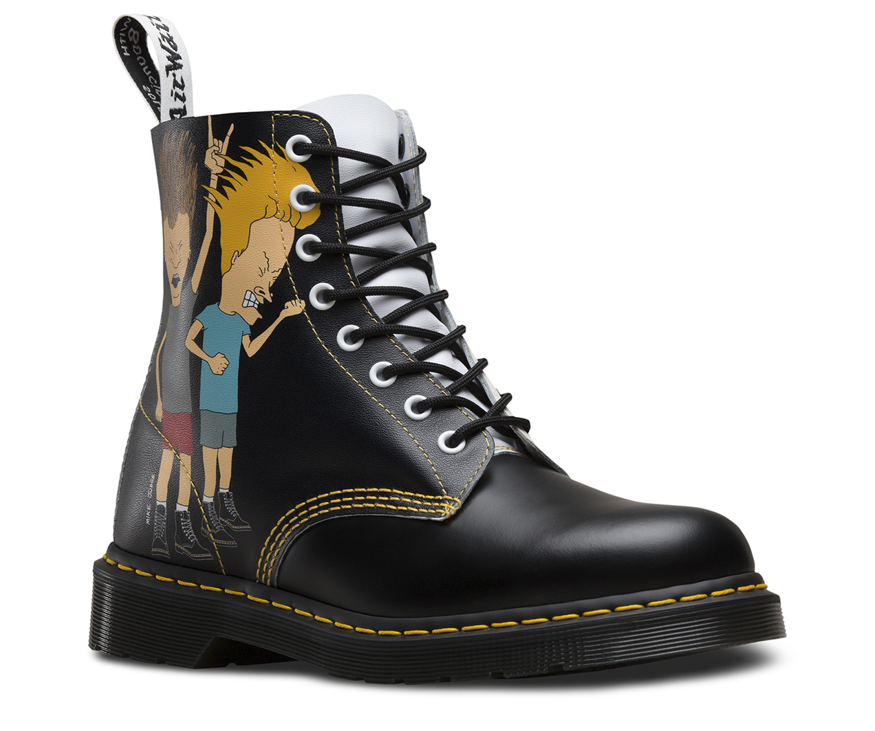 beavis butt head pascal sale official dr martens store. Black Bedroom Furniture Sets. Home Design Ideas