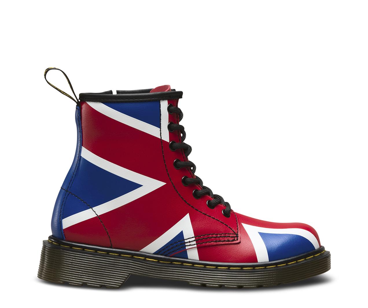 Junior Union Jack 1460 Junior Footwear Official Dr