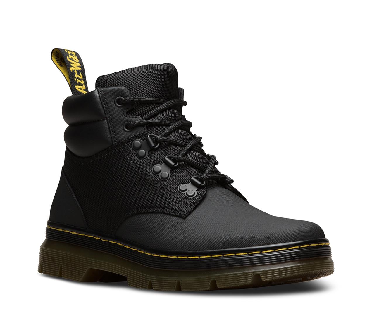 Rakim Hiking 5-Eye Boots - Black Dr. Martens YT8dT