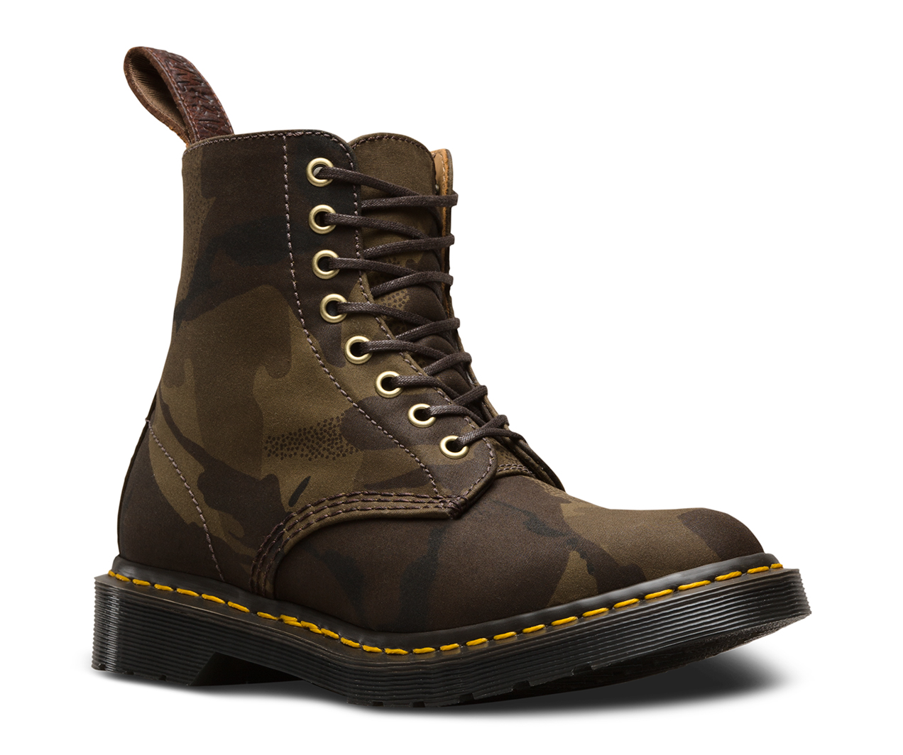 MADE IN ENGLAND CAMO 1460 PASCAL | Women's Made in England Boots & Shoes |  Official Dr Martens Store