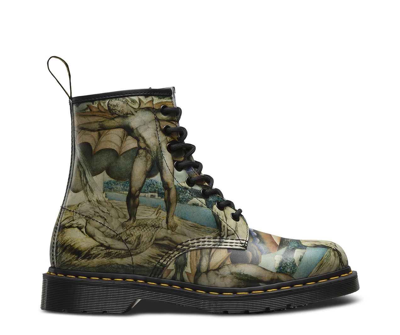 Dr. Martens1460 POWER - Lace-up boots - white/black cristal BvEQvt