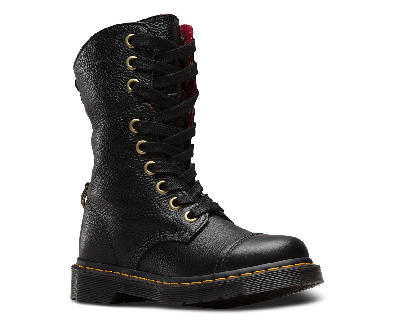 Womens Aimilita Ankle Boots, Black Dr. Martens