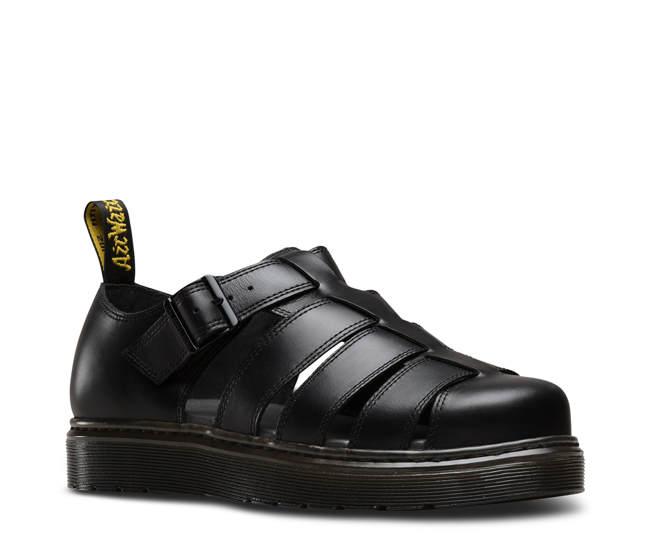 DR Martens Slip On Sandalo Vibal BLACK 23307001 ORIGINALE DOC