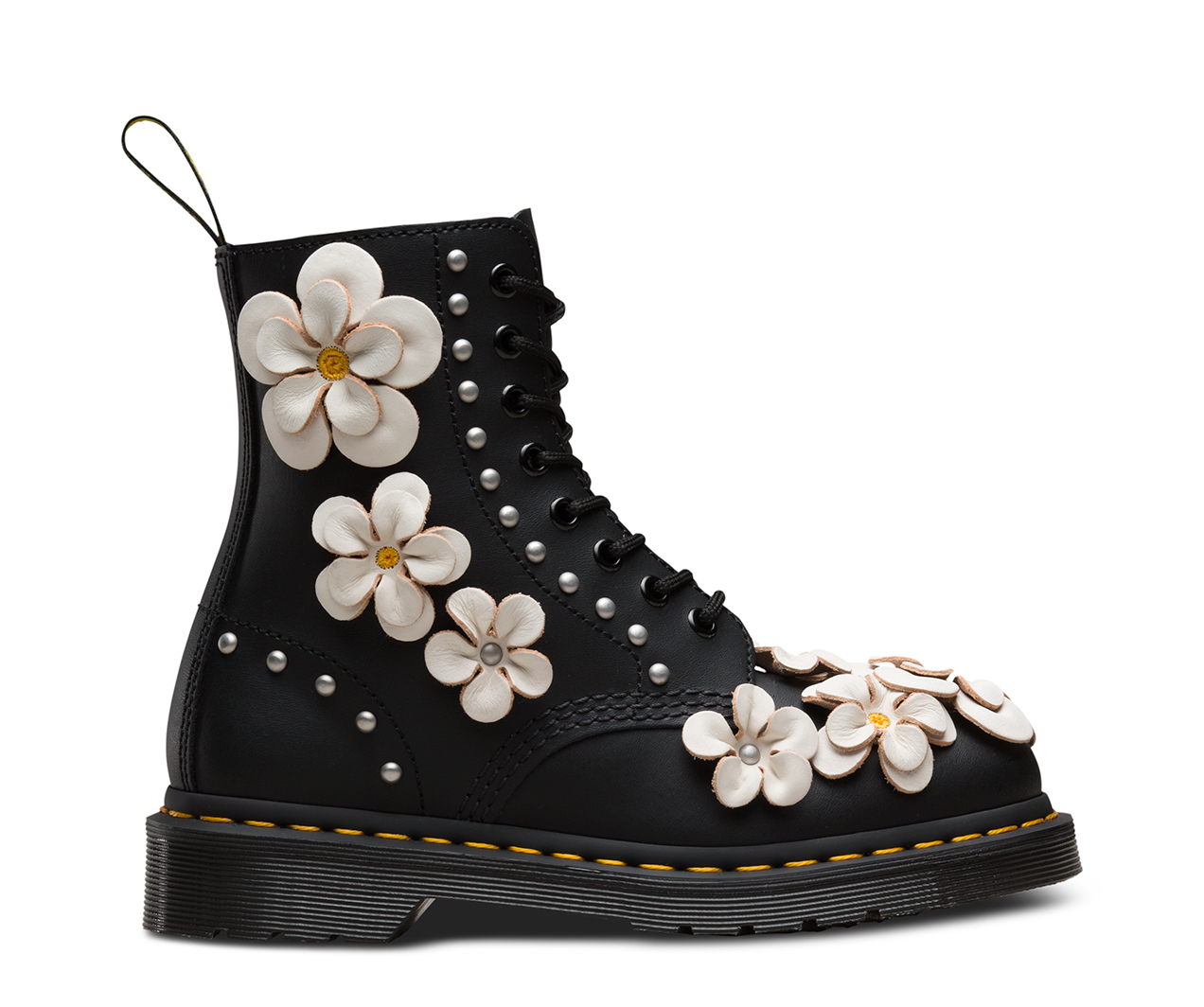1460 Pascal Flower 1460 8 Eye Boots The Official Us