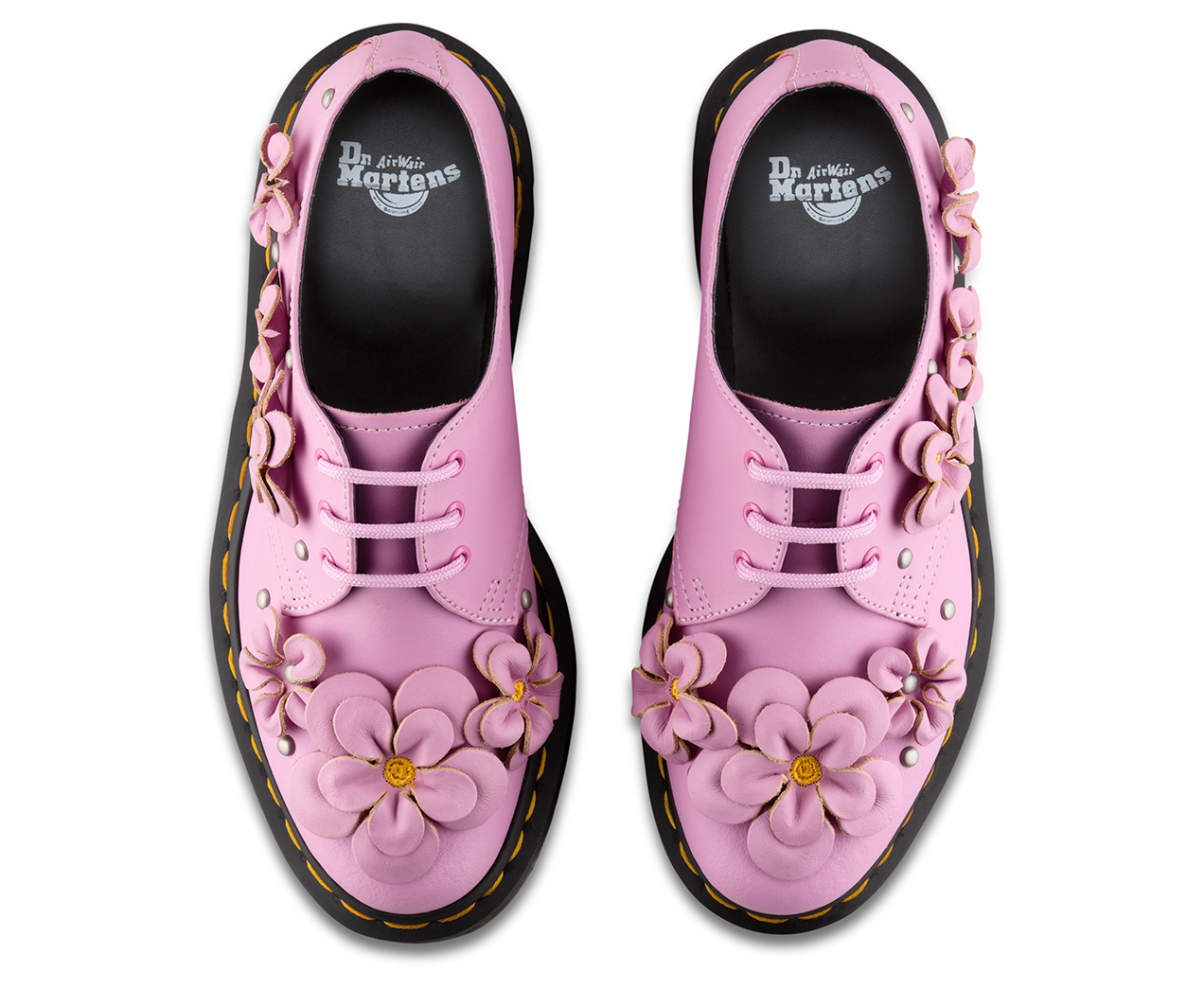 Dr. Martens 1461 Flower Derbys Discount Shopping Online Cheap Best Really For Sale Top Quality Online Cheap Sale Amazing Price mhujW
