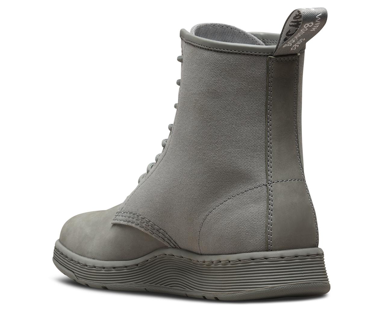 Dr. Martens Mens Newton Kaya Nubuck Canvas Boots*
