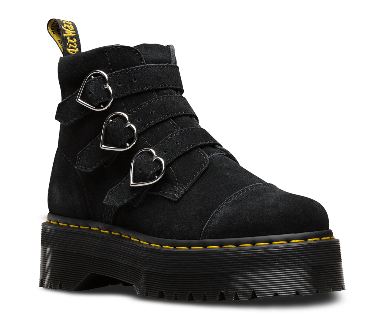 Lazy Oaf Buckle Boot Collaborations Dr Martens Official Site