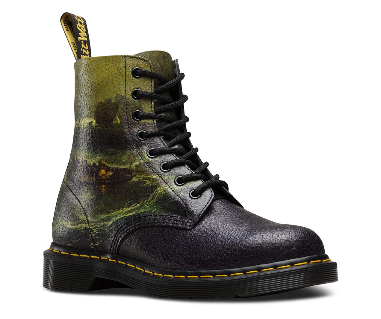 JMW Turner Fishermen 1460 Pascal  8Eye Boots  Official Dr Martens Store