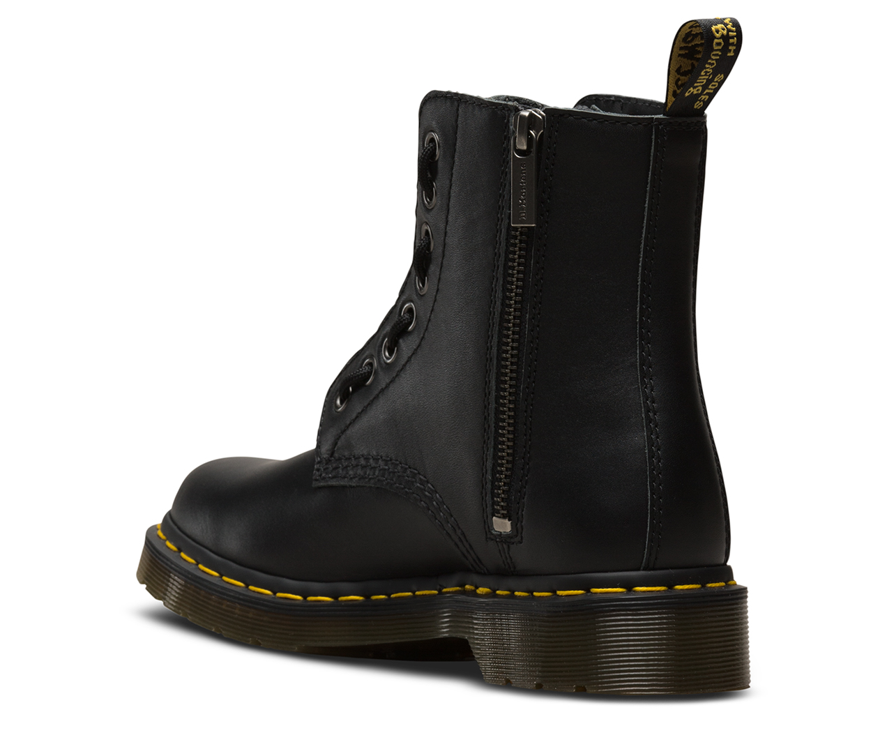 00ed7020e 1460 PASCAL FRONT ZIP NAPPA | Women's Boots | Dr. Martens Official