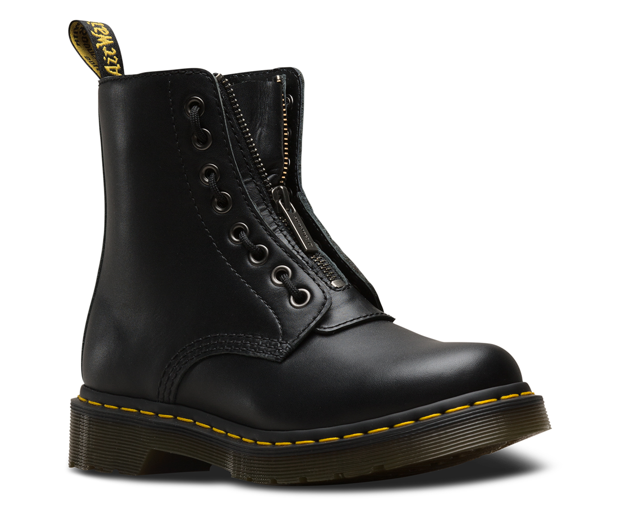 DR MARTENS 1460 PASCAL FRONT ZIP NAPPA