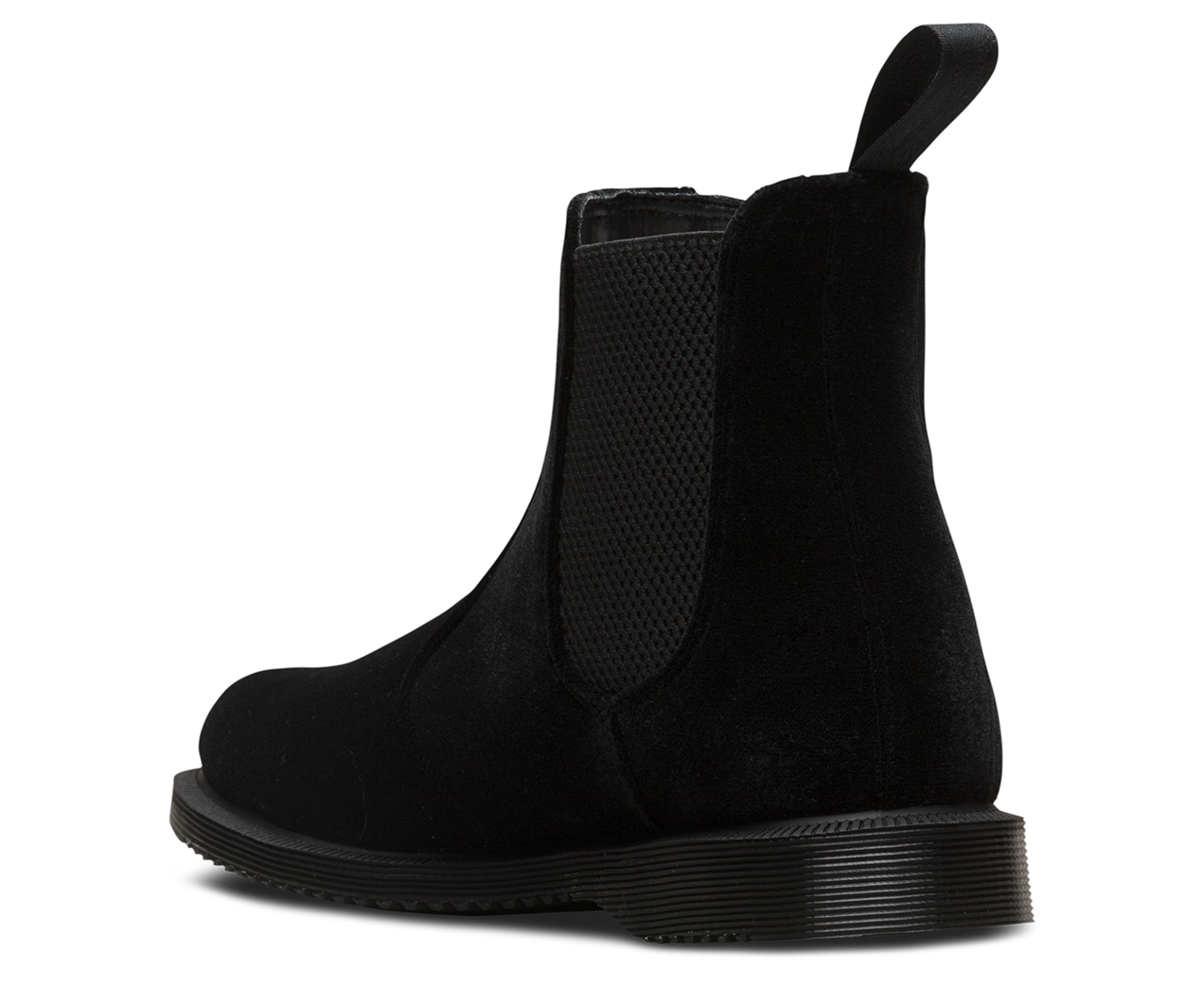 da49bd3a2f5 FLORA VELVET | Chelsea Boots | Dr. Martens Official Site