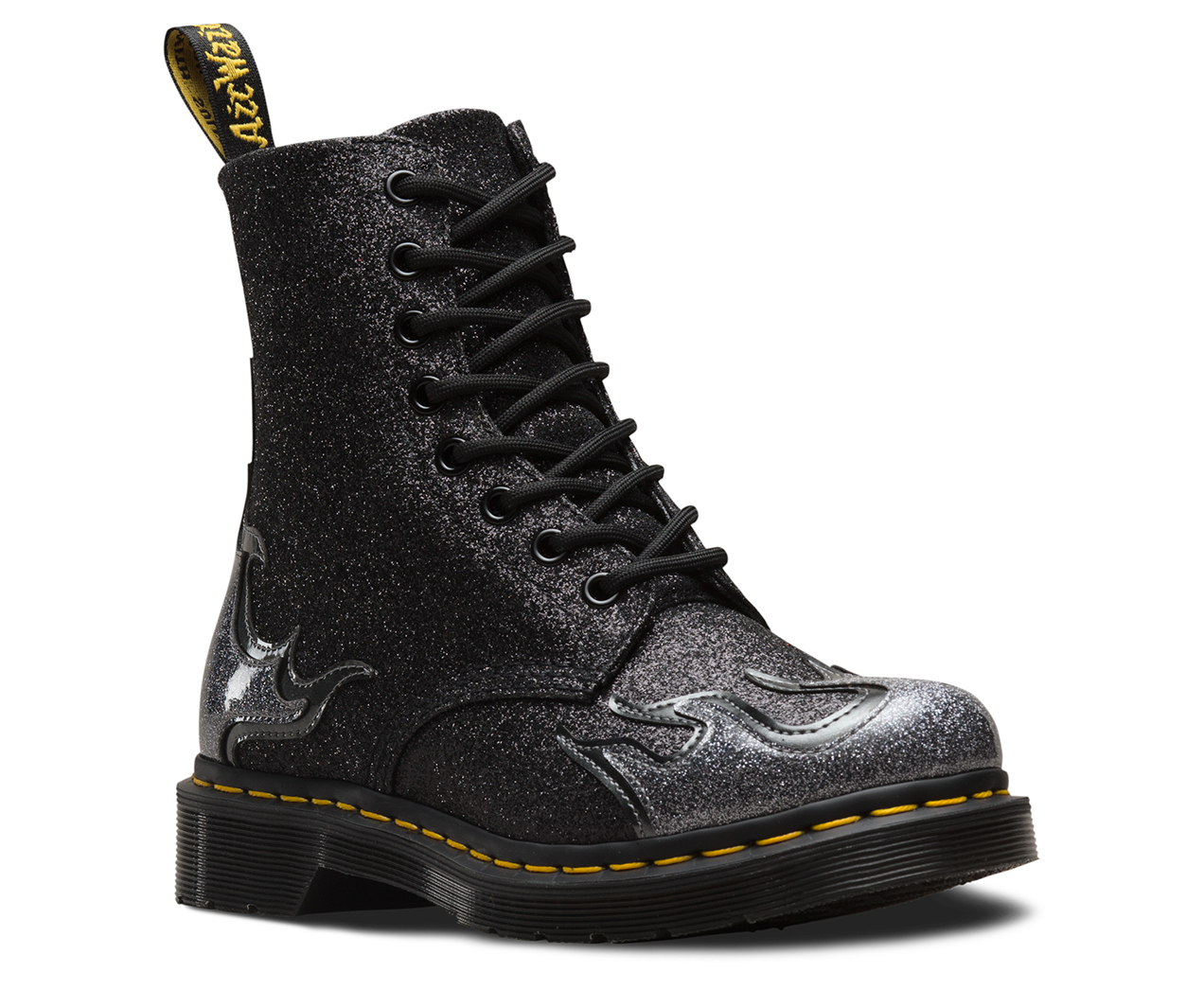 1460 Pascal Flame Glitter Aw18 Dr Martens Official Site