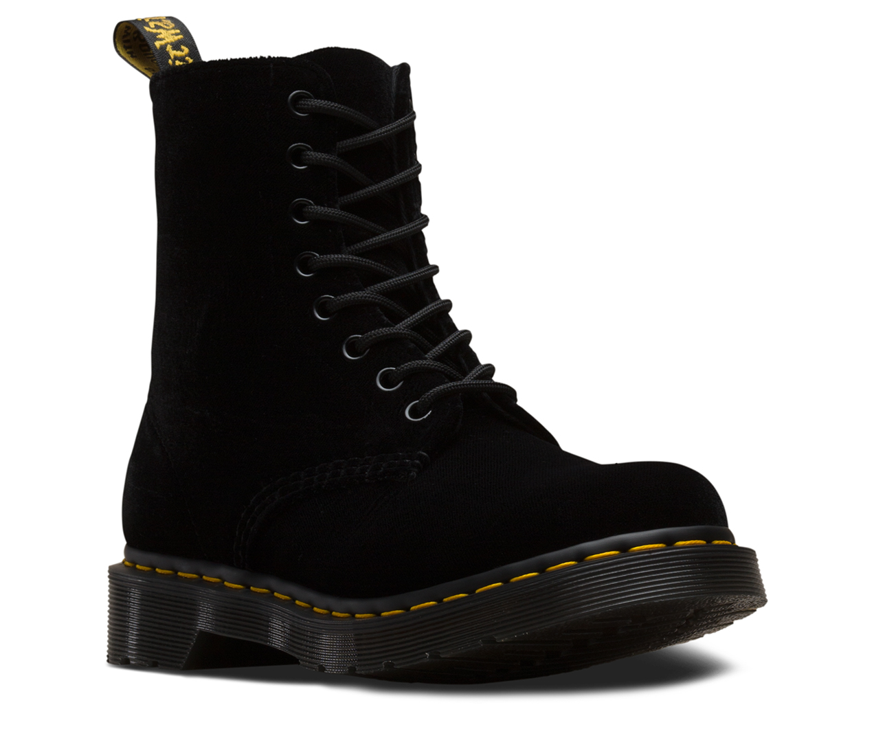 990ab2764171c 1460 PASCAL VELVET   Velvet Boots   Shoes   The Official US Dr Martens Store