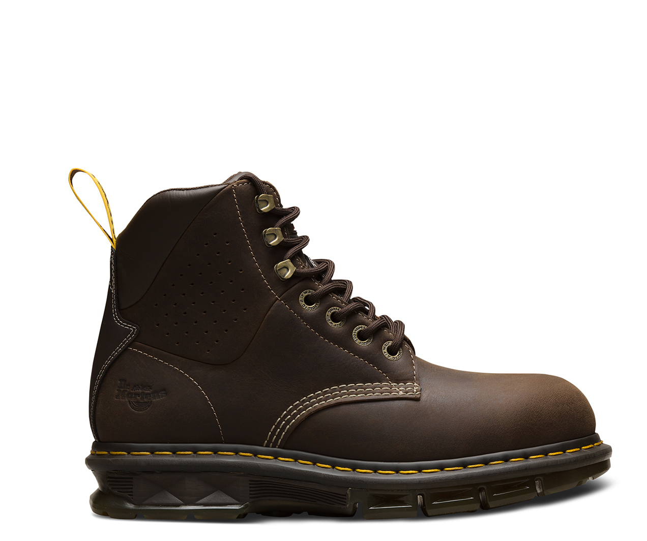 BRITTON STEEL TOE BROWN
