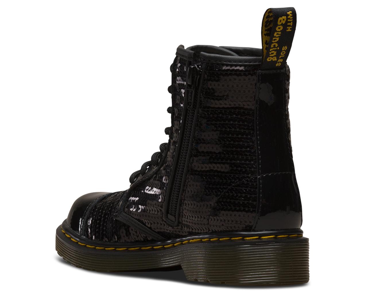 cef6748525b3 Footwear Dr.Martens Kids 1460 Pooch Sequin Patent Lamper Sequins Boots