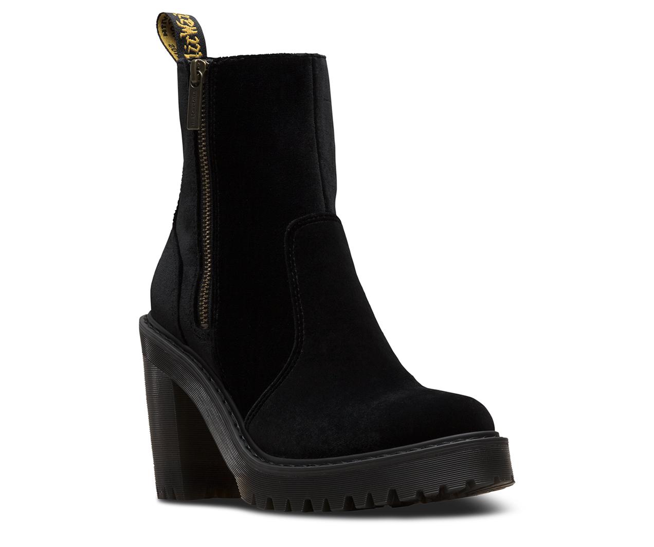 Magdalena Ii Velvet Women S Boots Shoes Amp Sandals Dr