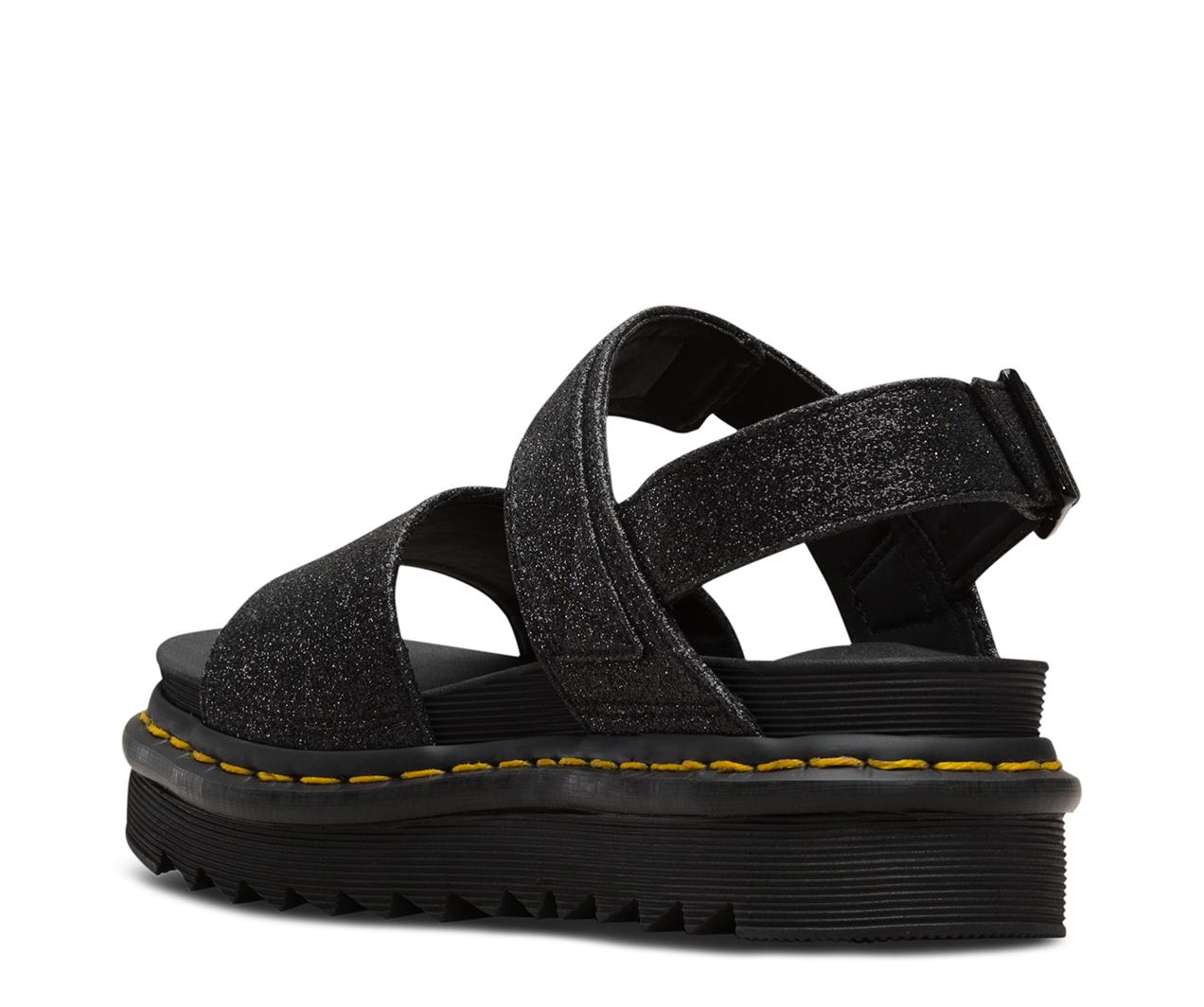 Voss Fine Glitter Sandals Dr Martens Official Site
