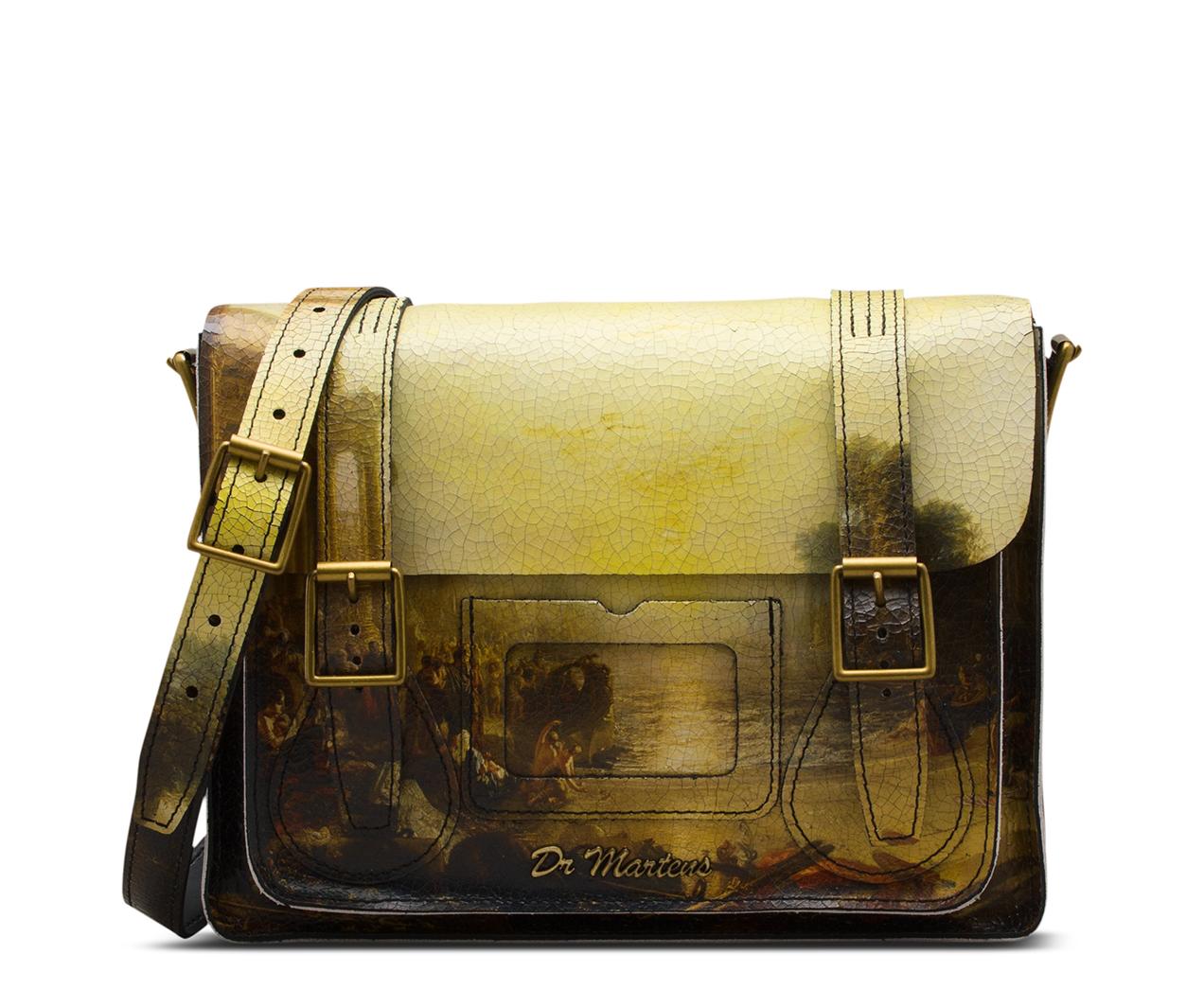 e0a1a8082d9 JMW TURNER 11'' Leather satchel | Turner | Dr. Martens Official Site