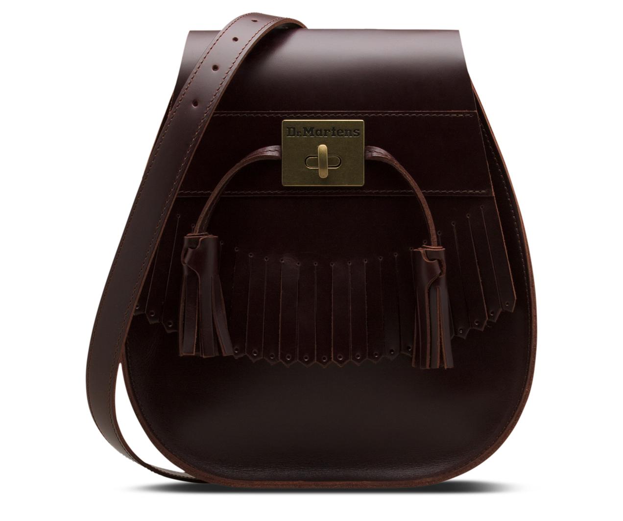 Martens Bag Saddle Leather Dr Brando Tassel L54AqjcR3S