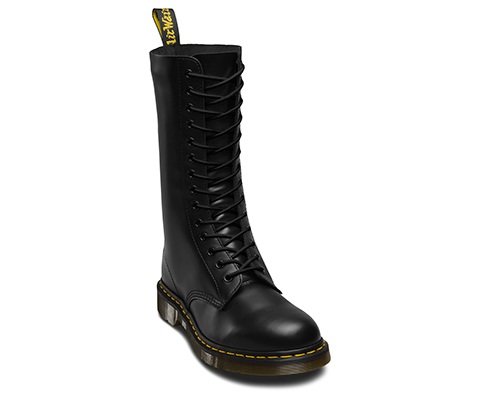 210CM BLACK ROUND LACE (12-14 EYE) | Shoe Care | Official Dr. Martens Store  - UK
