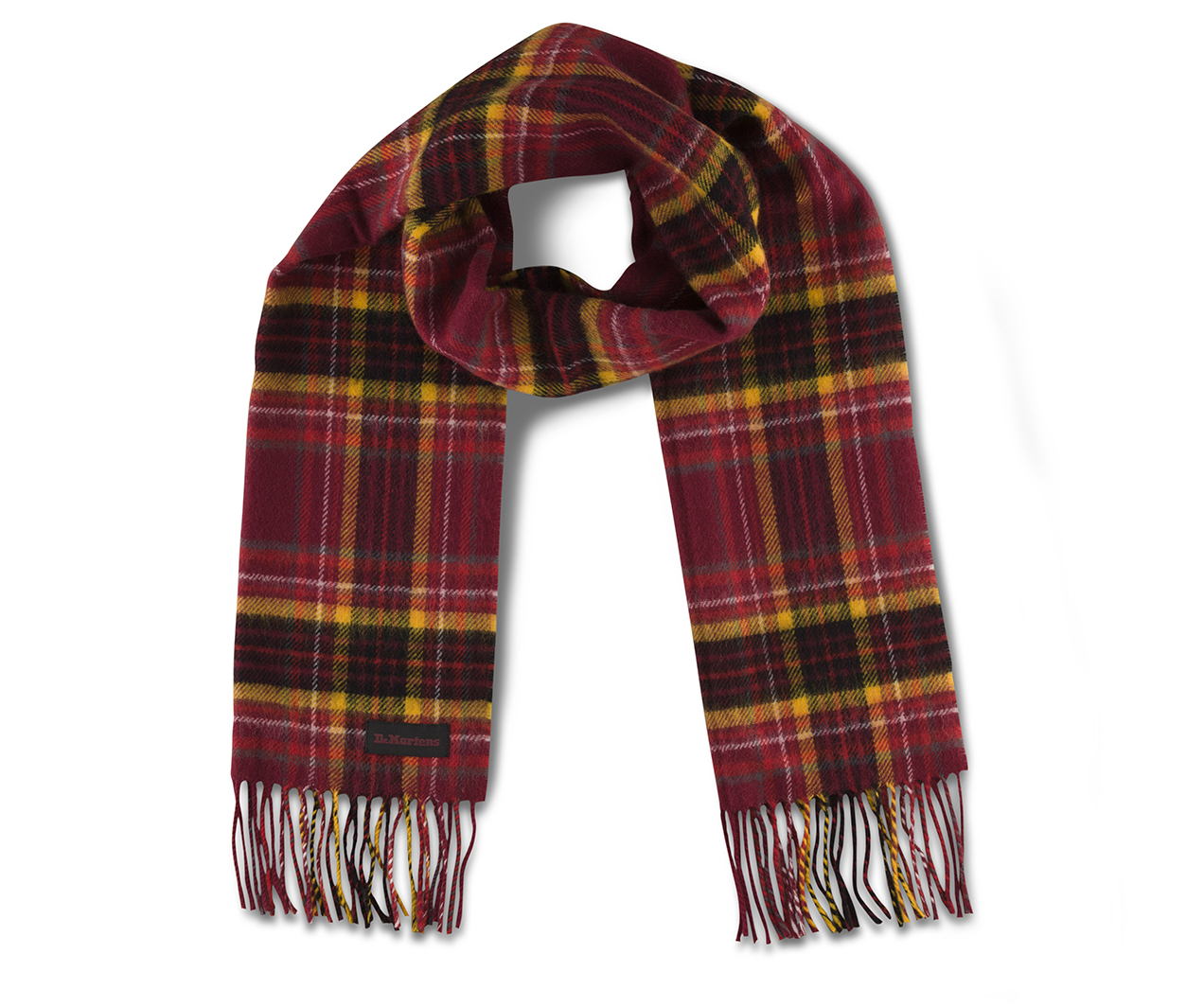 Lambswool Scarf Accessories Official Dr Martens Store