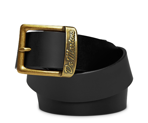 Smooth Leather Buckle Belt Shop All Dr Martens