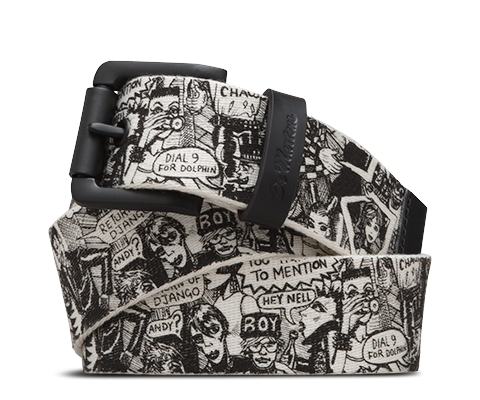 Buckle Belt PARTY PEOPLE PRINT AC307003