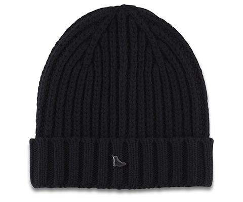 Knitted Beanie BLACK AC366002