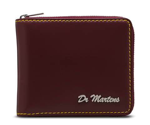 Men s Fold Zip Wallet CHERRY RED AC509601 a1afae74495e