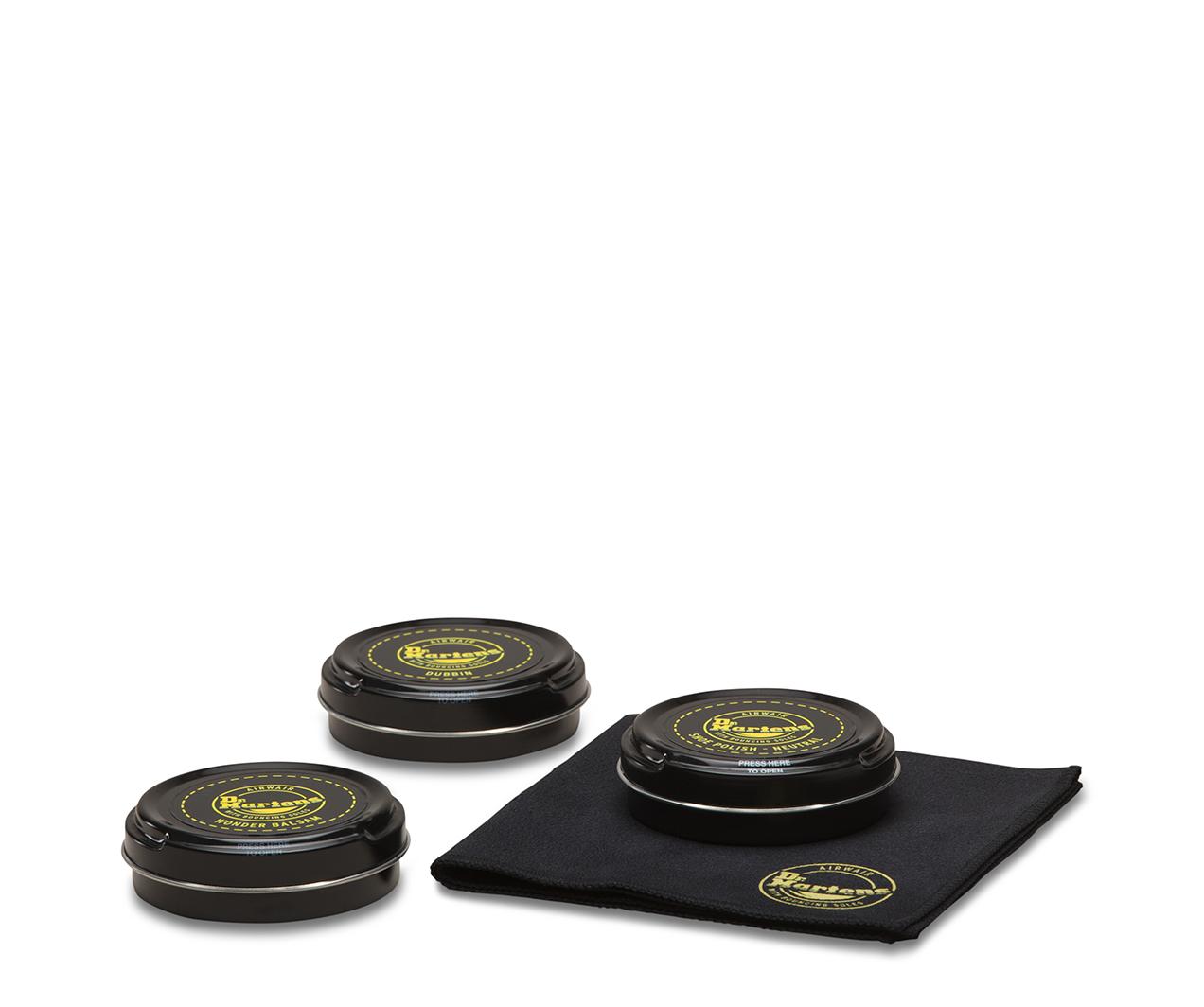 Martens Shoe Care Kit 2 AC774000 Wonder Balsam Dubbin Shoe Polish w// Cloth Dr